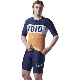 VOID Fusion Kurzarm Trikot Herren orange/blau